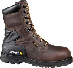 Click Image Above To Buy: Carhartt - Safety Toe Insulated Work Boot (men's) - Brown Pebble Oil Tanned Leather Carhartt Boots, Insulated Work Boots, Tactical Clothing, Brown Boots, Combat Boots, Men's Boots, Tan Leather, Work Wear, Hiking Boots