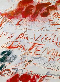 Cy Twombly - Rue Vieille du Temple