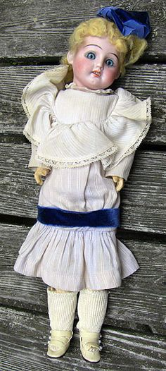 Bisque doll marked German 50 3/0.
