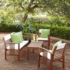 Belize Occasional Furniture 4 Piece Set From World Market   With The Deeper  Bench,