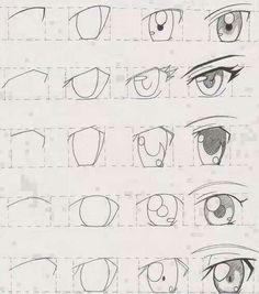 Ojos anime! ♥♥♥