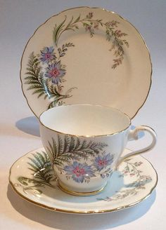 Aynsley vintage China Teacup Saucer Side Plate Trio Katies Collectables & Vintage Teacup Company Tea Parties - Events - Weddings – Gifts - Collectors - Replacement China- Theatre/Film Props China Match - China Search We sell - China, crockery, tea cups, tea sets, dinner