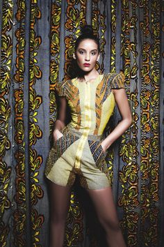 """cute #romper from #Nigerian house, Iconic #Invanity's'Luxury Sweet Candy"""" Collection"""
