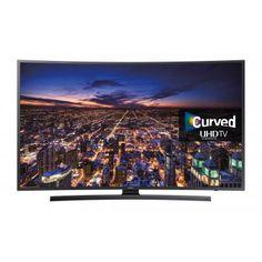 """65"""" Ultra HD Curved Smart LED TV 3840 x 2160 Resolution Black 4 x HDMI 3 x USB Vesa 400 x 400mm"""