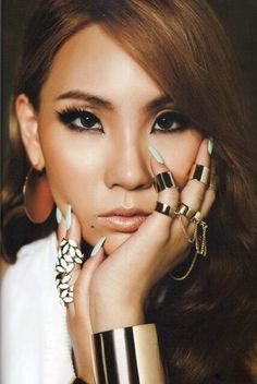 I'm such a big fan of CL! She inspires me so much everyday! She was the reason I became a fashion designer. #WinWayneGossTheCollection