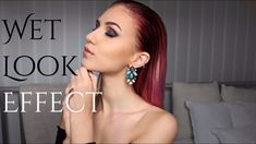 How to: WET LOOK EFFECT - Slick Back Hairstyle | Stella
