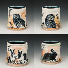Laurie Shaman: Tea Cups