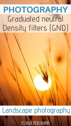 Do you like photography and camera accessories? I invite you to discover the utility of graduated neutral density filters, also known as GND filters. They are particularly helpful to compensate for the difference in brightness between foreground and background, directly when shooting. #photographytips #photography #accessories #GNDfilters