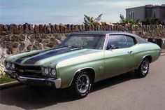 1970 Chev Chevelle SS 396: Unrestored survivor SS 396/350hp with an automatic, bucket seats, power steering, vinyl top, air conditioning, console, special performance suspension, 3.31 ...