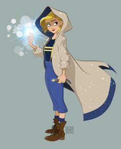 #JodieWhittaker is my new favorite Doctor! #DoctorWho #thirteenthdoctor #13thdoctor #timelord #gallifrey #tardis #sonicscrewdriver #FanArt #characterdesign #adobeillustrator #BBCAMERICA #bbcdoctorwho