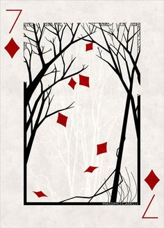 Playing card on Behance
