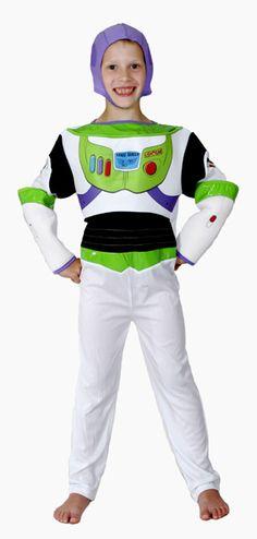 Buzz Lightyear Toy Story Boys Costume