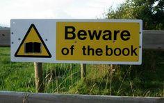 Beware of the book...