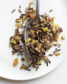 Wild Rice Stuffing - a nutty wild rice stuffing calls upon the same wonderful flavours found in traditional stuffing, only this version is completely gluten-free; it's also vegetarian. This is one healthy dish that will definitely have your family giving thanks!