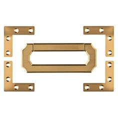 LOT OF 40 EACH  FILE CABINET HARDWARE BRASS PLATED CARD HOLDER  D3139