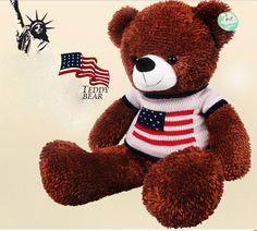 usa usa usa   http://www.joyfay.com/us/giant-huge-31-80cm-brown-teddy-bear-stuffed-plush-toy-with-usa-style-sweater.html