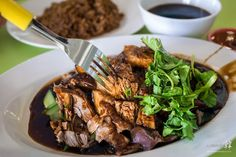 Braising is often used extensively in the cuisines of Asia, particularly Chinese cuisine, where dark and light soy sauce are the primary seasoning in the rich brown braising liquid. 5-spice and so...