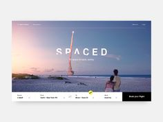 SPACED Margot Gabel https://dribbble.com/shots/4218223-SPACED