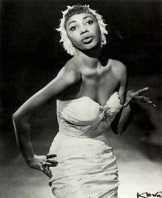 Actress and singer, Josephine Premice.      Mrs. Premice's daughter, Susan Fales-Hill, was a producer for A Different World and she also wrote a book about her mom titled, Always Wear Joy: My Mother Bold and Beautiful.