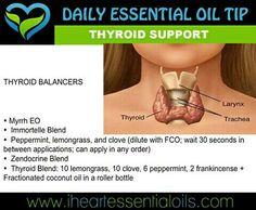Thyroid Balancing Essential Oil Blend https://m.facebook.com/Passion4oils