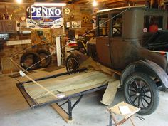Model T Ford Forum Old Photo Vintage Camping Anyone