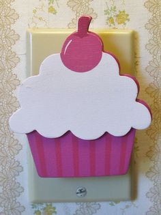 Cupcake Outlet Safety Cover by LilBitSassy on Etsy, $2.00
