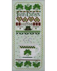 Irish Creme Cross Stitch Sampler (cuteness for the kitchen!) ($6.00)