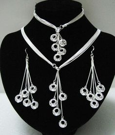 Our silver jewelry factory established in 1999 in Bangkok, Thailand. Black Diamond Jewelry, Ceramic Necklace, Wedding Jewelry Sets, Schmuck Design, Jewelry Trends, Pendant Jewelry, Craft Jewelry, Sterling Silver Jewelry, Silver Jewellery