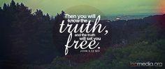 John 8:32 NIV incmedia.org John 8 32, Churches Of Christ, True Happiness, Set You Free, Bible Verses, Prayers, Encouragement, Wisdom, Faith