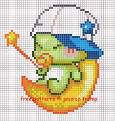 50 Free cross stitch designs fantasy figures 3 stitchingcharts borduren gratis borduurpatronen fantasie kruissteekpatronen