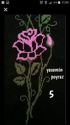 This Pin was discovered by Lal Creative Embroidery, Cross Stitch Rose, Cross Stitching, Blackwork, Embroidery Stitches, Cross Stitch Patterns, Diy And Crafts, Sewing, Centre