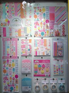 Doodlebug Design Sugar Shoppe Collection NEW CHA Winter 2014 - Scrapbook.com