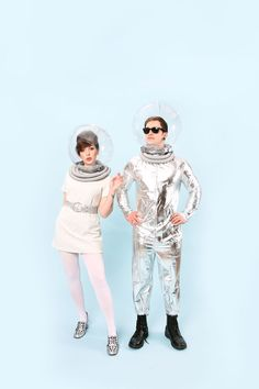 Halloween Couples Costume Idea: 60s Tomorrowland