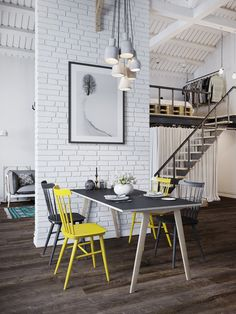 This is certainly not the first time we have featured loft designs on this blog but with the popularity of urban living along with the drive to reuse and renova