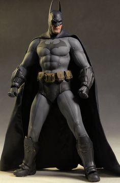Arkham City Batman sixth scale action figure by Hot Toys Game Character Design, Comic Character, Dc Comics, Batman Wallpaper, Batman Artwork, Batman Arkham City, Batman Action Figures, Figure Photography, Batman The Dark Knight
