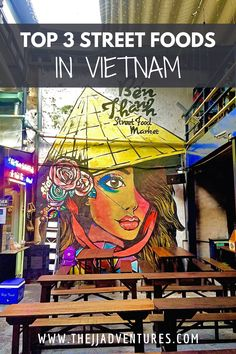 Street food is an easy and inexpensive way to dive into Vietnamese cuisine and culture. Here are my personal top 3 favorite street foods you must try in Vietnam. #jjadventures #vietnam #hoian #hochiminhcity #saigon #nhatrang #hanoi #vietnamesefood #foodie #foodblog #travelguide #expatlife #travel #travelblog #blog #nightmarket #streetfood #expat #lifeabroad #livingabroad