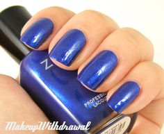 Makeup Withdrawal: Zoya Fall 2012 Diva Collection in Song