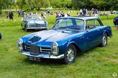 #Facel #Vega #Facel #III à #Chantilly Arts et Elégance. Reportage complet : http://newsdanciennes.com/2015/09/07/grand-format-chantilly-arts-et-elegance/ #Classic_Cars #Vintage #Cars #Voiture #Ancienne