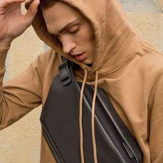 The Messenger, Hooded Jacket, Athletic, Unisex, Black, Instagram, Style, Fashion, Jacket With Hoodie