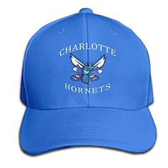 ZOENA Charlotte Harnets Cotton Hats Hip Hop Sanpback Cap Hat For Outdoor  Sports RoyalBlue     Check out the image by visiting the link. 8d9d847cf8ea