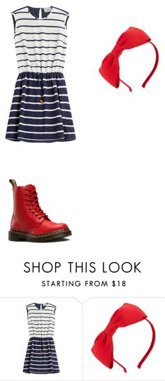 """""""Untitled #117"""" by taaywhitee on Polyvore featuring Preen, Kate Spade and Dr. Martens"""