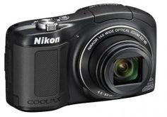 Nikon COOLPIX L620 18.1 MP CMOS Digital Camera with 14x Zoom Lens and Full 1080p HD Video (Black) | My Canon Digital Camera