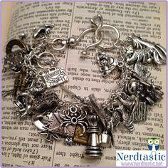 Harry Potter 47 Charm Loaded Bracelet