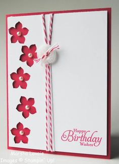 Keywords: Petite Petals Simply Sketched SUM Stamps: Simply Sketched Paper: Whisper White, Melon Mambo Paper Size: 4 1/4 x 5 1/2 Ink: Mel...