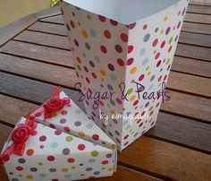 Είμαι παιδί: Κουτί για Pop-Corn και κουτάκια δώρων για παιδικό πάρτι