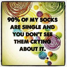 Socks single ladyyyyy!!