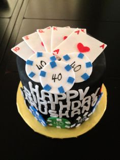 40th Birthday - Poker Theme