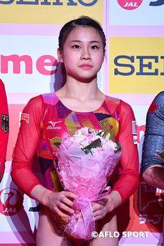 Gymnastics Girls, Gymnastics Leotards, Gymnastics Posters, Aiko, Olympians, Female Athletes, World Championship, Gymnasts, Lady