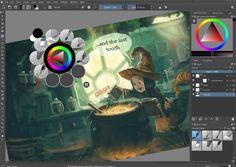 Krita es un programa de código abierto desarrollado para artistas conceptuales, diseñadores gráficos, ilustradores
