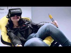 Las reacciones de nuestros asistentes al probar la VR - YouTube
